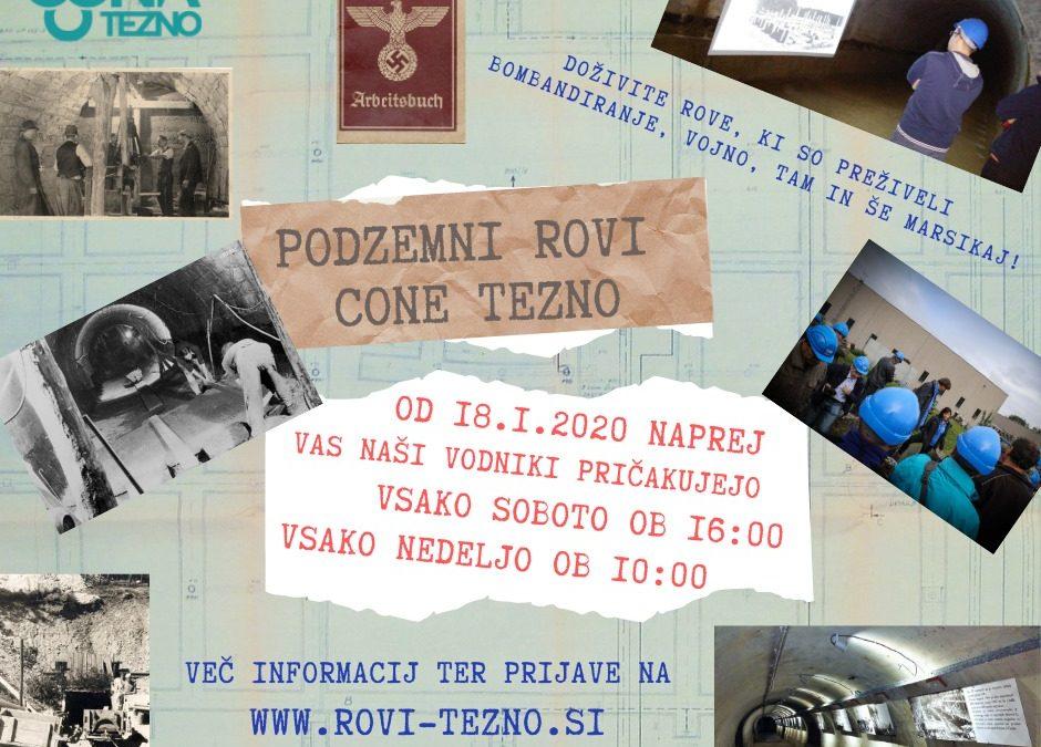 Posebna ogleda podzemlja za slovenski kulturni praznik in dan zaljubljenih
