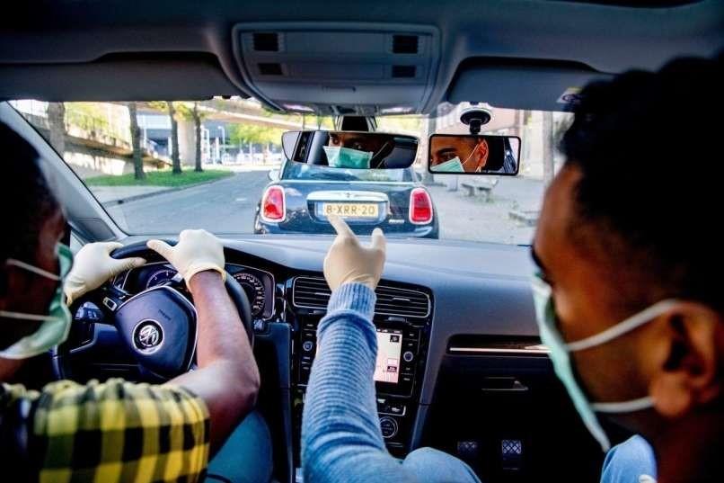 Priporočila za ravnanje v zvezi s preprečevanjem širjenja okužbe s COVID-19 za izvajanje vozniških izpitov